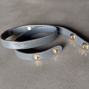 Banana Republic Gray Wrap Bracelet